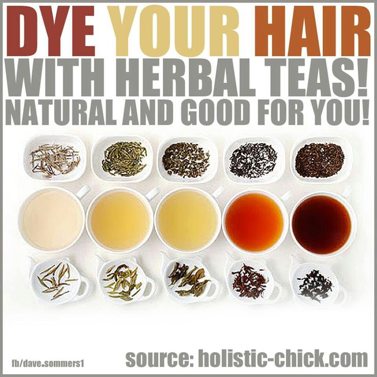 how to prepare natural black hair dye