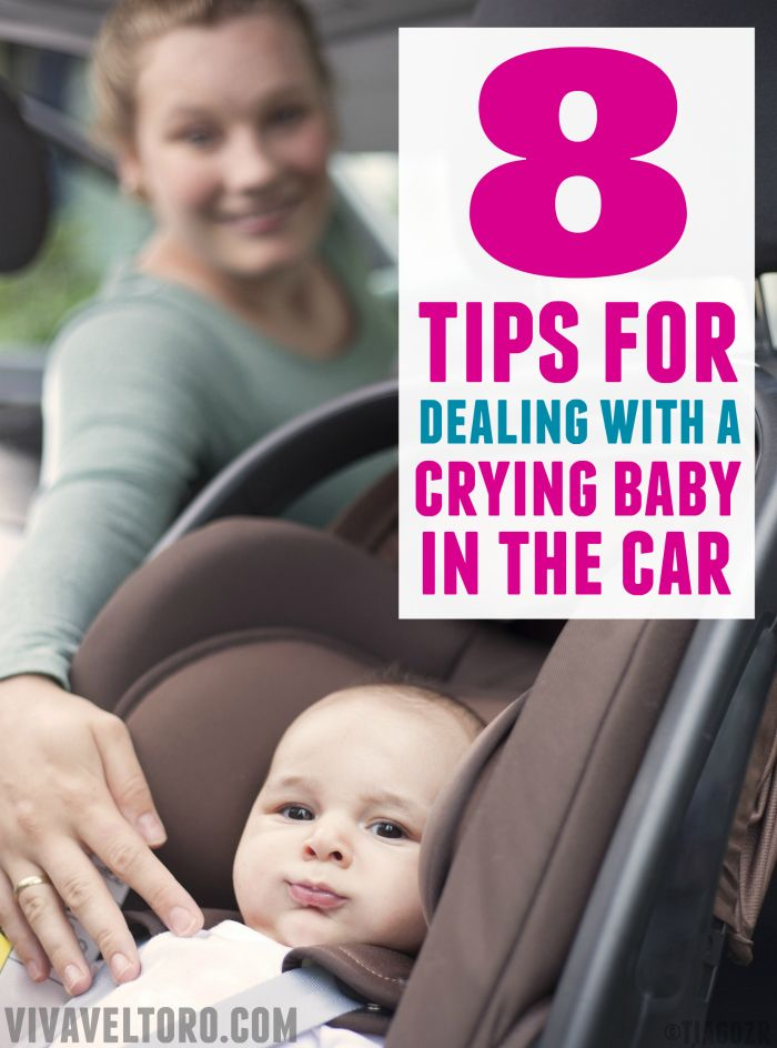 These tips are great if you have a baby who cries in the car - especially number 5! AD