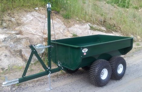 ATV, Trailer,utility trailer,work trailer,dump trailer,hunt trailer,off road trailer, bush trailer,trailers,pull behind atv trailer,atv trailor,quad trailer,4 wheeler trailer,atv log hauler,log carrier,log skidder,multi use   Made in BANCROFT!