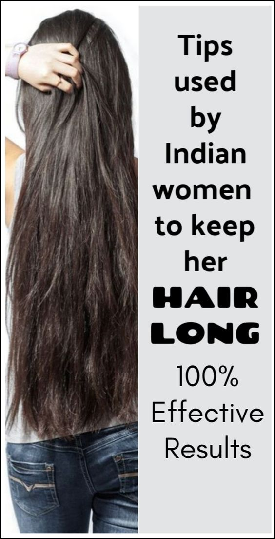 Suggestions Utilized by Indian Girls to Hold Hair Lengthy