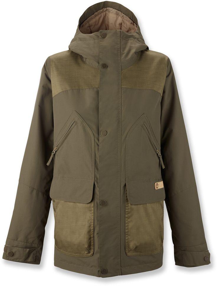 Burton Brighton Insulated Jacket   Color Wren, Size Medium