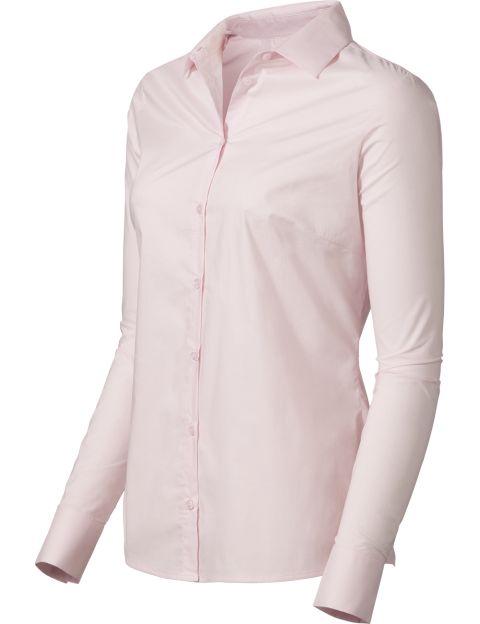 Purdey katoenen blouse roze