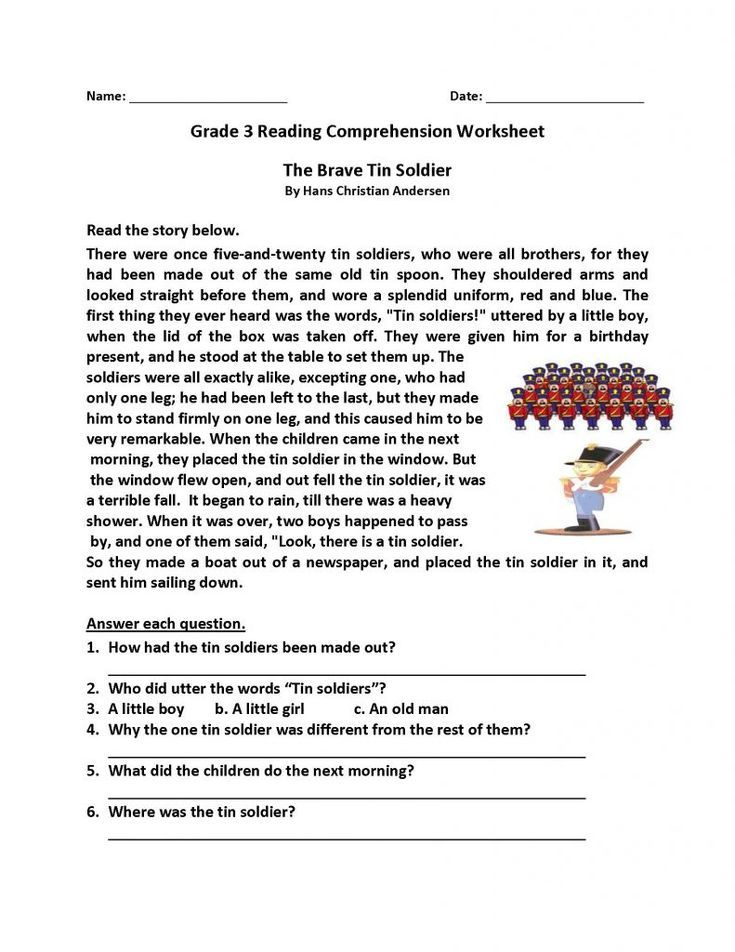Free Reading Comprehension Worksheets - Best Coloring Pages For K... … In  2021 2nd Grade Reading Comprehension, Comprehension Worksheets, Reading  Comprehension Worksheets