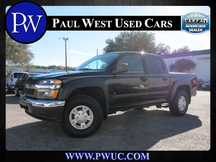 2006 CHEVY COLORADO CREW CAB LT 4X4 Price: $16,595 Miles: 75,264 http://www.pwuc.com/inventory/for-sale-used-2006-chevy-colorado-gainesville-fl/