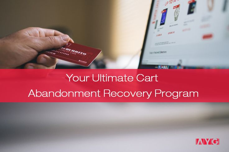 Good news, guys! Cart Abandonment comes with a Recovery Program, as well… Here's how everything started.  Once upon a time, it was a race to the middle line. Yes, you've read it. Not the finish, but the middle line. Because nowadays we aim to meet our customers halfway – them willing to share more personal information and us, marketers, growling for making those sales.