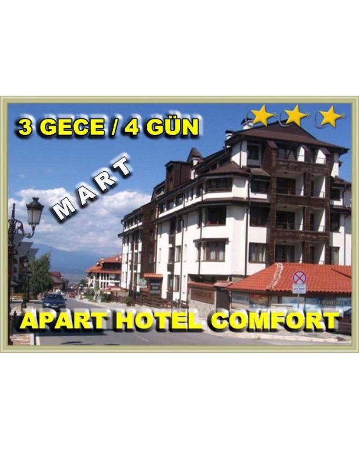 BANSKO KAYAK TURU / MART 2018  / 3 GECE 4 GÜN / APART HOTEL COMFORT 3* - Mart Ulaşım Dahil 149 euro !