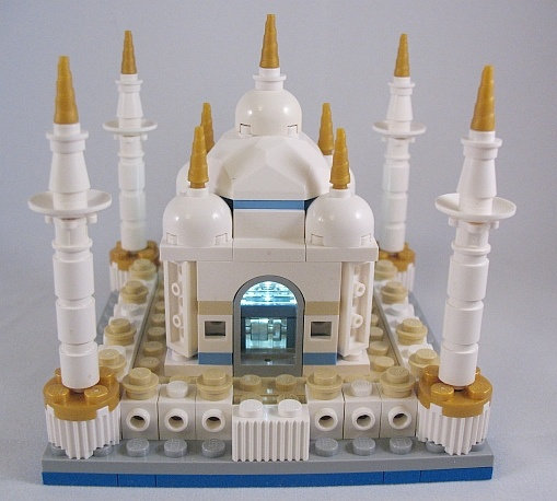 LEGO Mini Taj Mahal Crystal Windows | Flickr - Photo Sharing!
