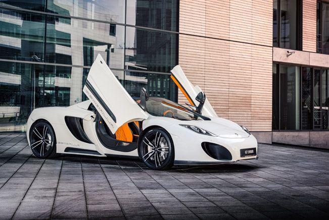 Gorgeous Gemballa McLaren 12C Spider