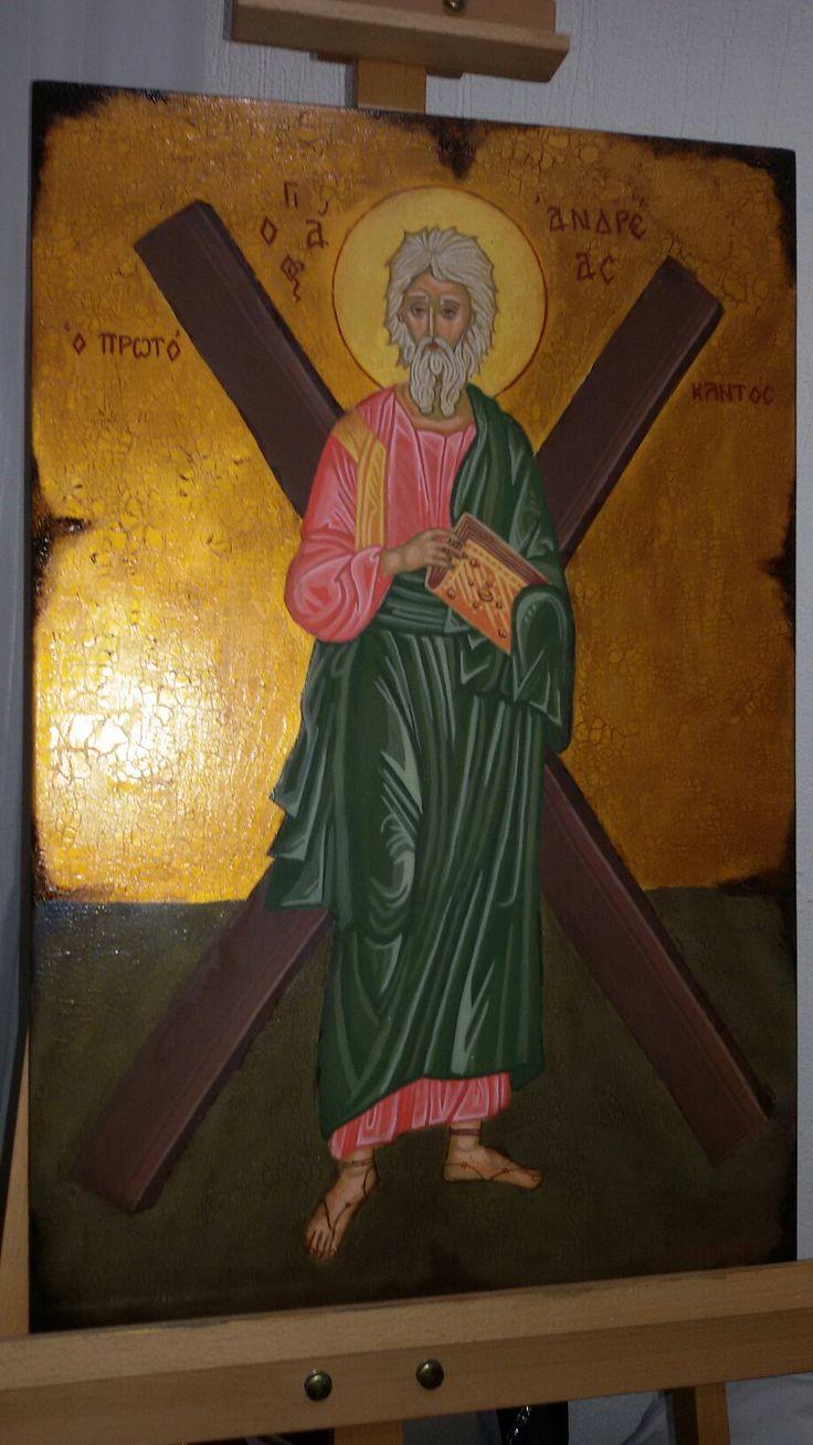 Apostolos Andreas with qraquele technic