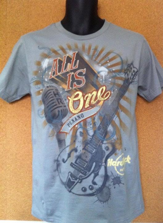 Hard Rock Hotel Penang All is one tee – RM95