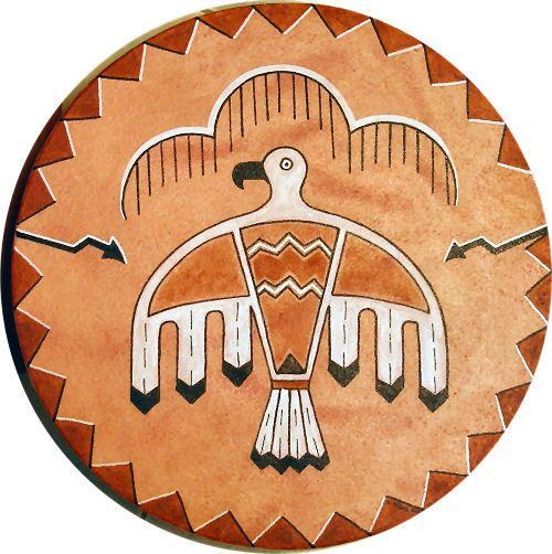 Thunderbird Native American arts crafts