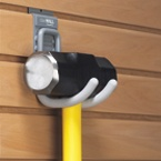 Don't put that sledge hammer in the corner where it will rust and fall over, hang it instead with a Cradle Hook.