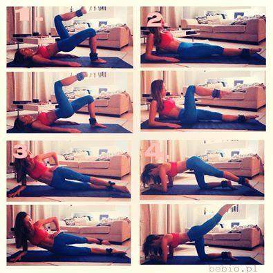 Ewa Chodakowska legs 20 x each leg, 3 x all round