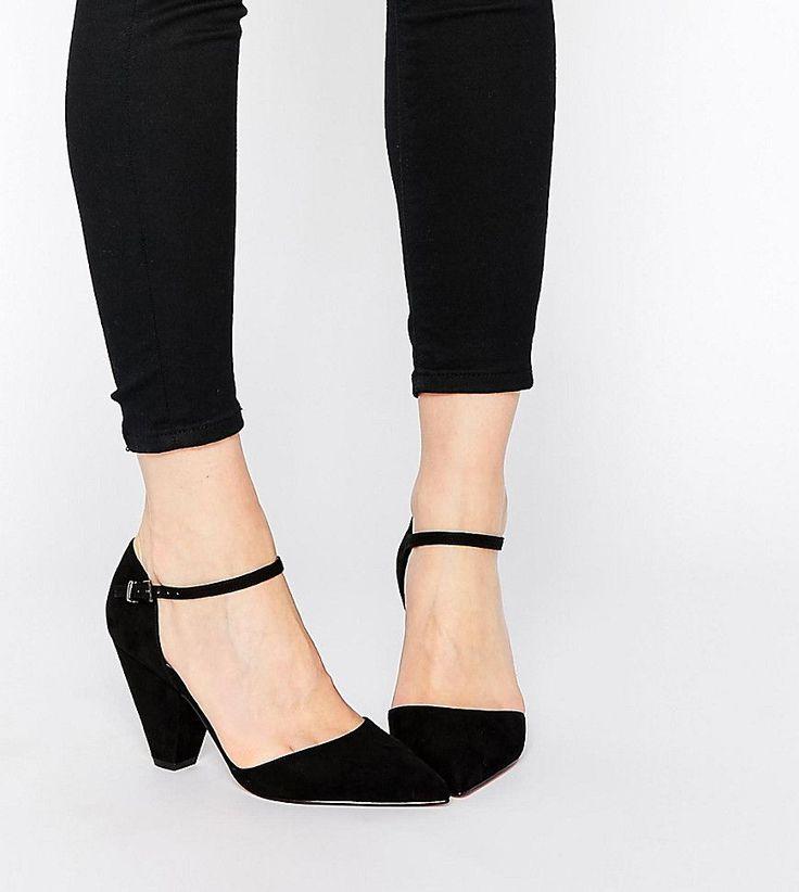 ASOS SPEAKER Pointed Heels - Black