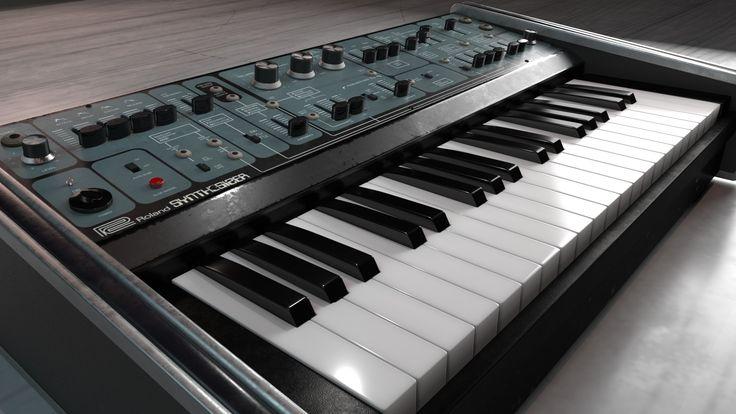ArtStation - Synthesizer/loading...90%, Kini Kern