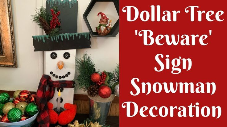 Dollar Tree Christmas Crafts: Dollar Tree Beware S…