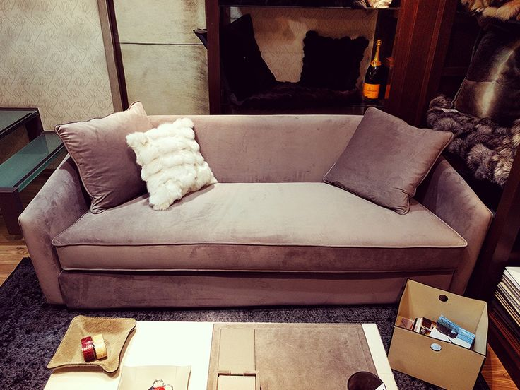 Fur Deco | sofa with 'perfect' fabric