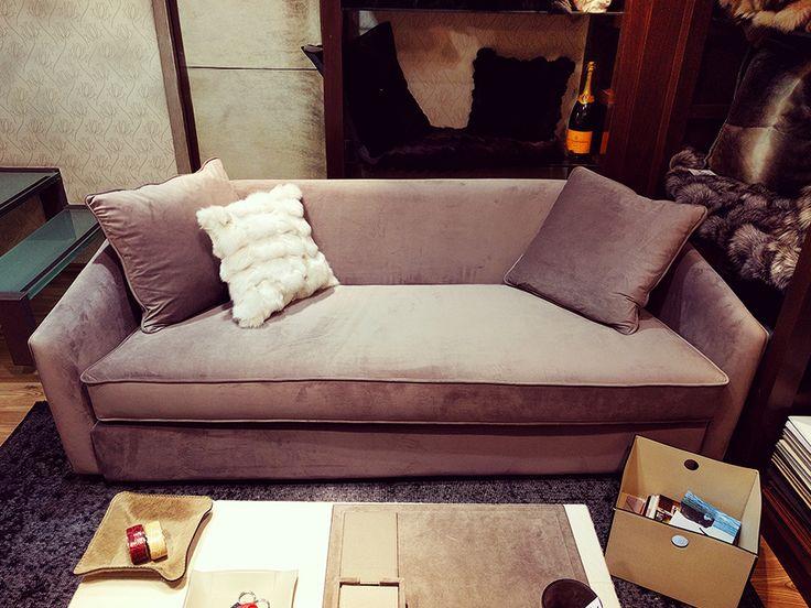 Fur Deco | sofa with 'perfect' fabric