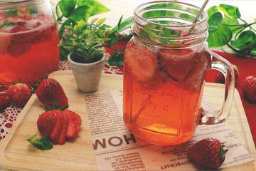 『いちごソーダ』苺のおいしい季節に作ろう♪  | もぐー(mogoo)