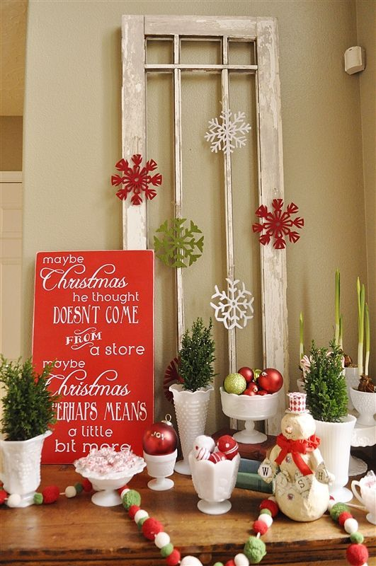50 Indoor Decoration Ideas for Christmas that will Spark Your Creativity this Year & 172 best Christmas Decorations Indoor images on Pinterest ...