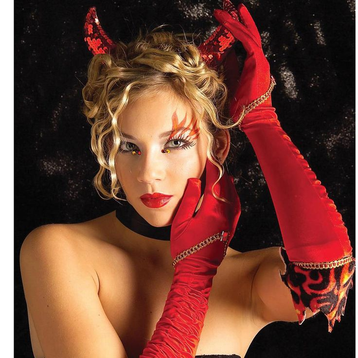 Hot Devil Woman Complete Your Devilish Look