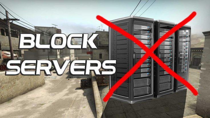 Block Server Regions in CS:GO!