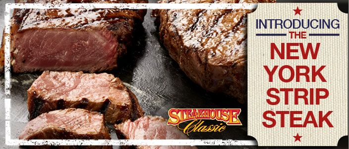 The stakehouse classic introduces the New York strip steak. #CertifiedNaturalLamb #SteakhouseClassic #ChampionBoerwoers