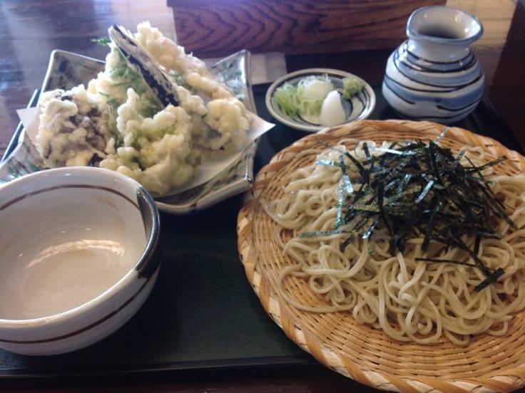Soba buckwheat noodles #Japan #Soba #Food