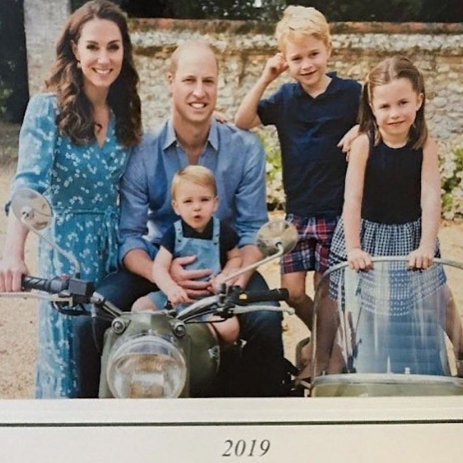 "Duke And Duchess Of Cambridge Christmas 2020 HRH The Duchess Of Cambridge on Instagram: ""The Cambridge's cover"