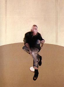 Center panel Study for a Self-Portrait—Triptych, 1985–86, by Francis Bacon (Private collection)