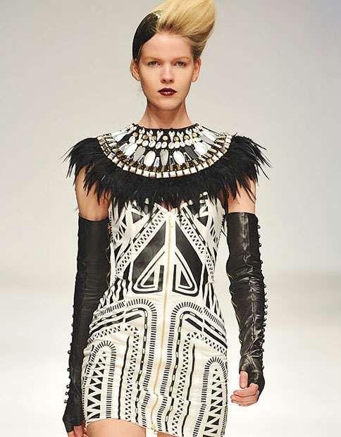 Jailhouse Tribal Fashion - The Sass & Bide Autumn 2010 Collection Rocks Black & White Right (GALLERY)