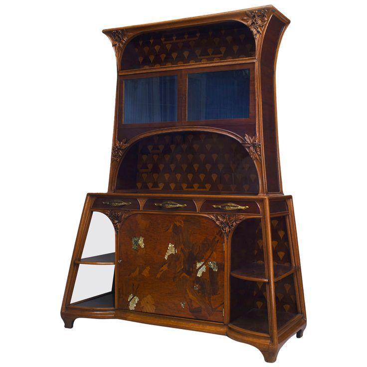 art nouveau furniture designers the