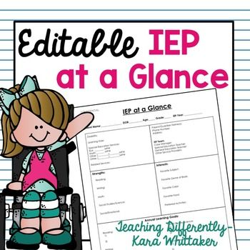 iep at a glance template - 713 best images about clipart melonheadz on pinterest