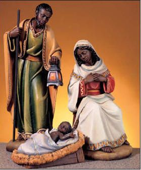I need this for my collection African American Holy Family.