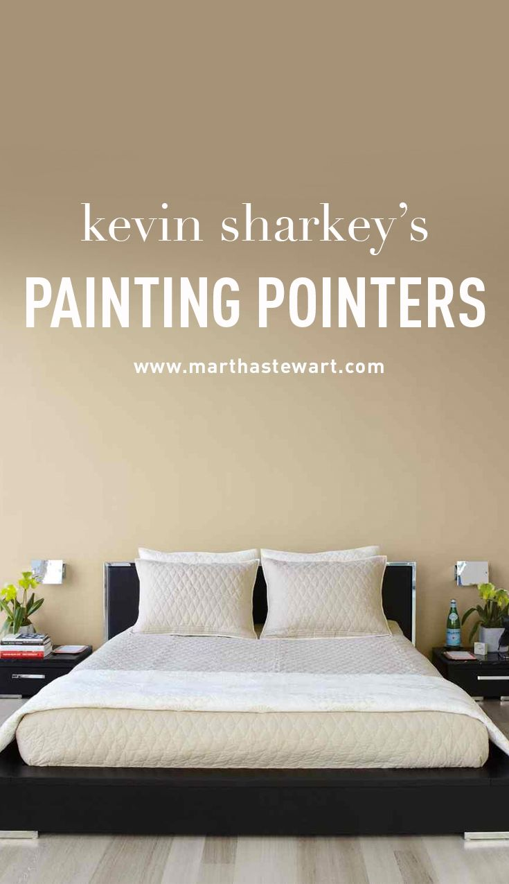 Kevin Sharkeys Painting Pointers Beige WallsPaint PalettesWall
