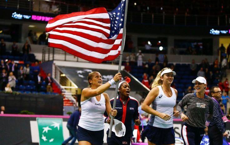 Tennis: USA gewinnen zum 18. Mal den Fed Cup - SPIEGEL ONLINE - Sport
