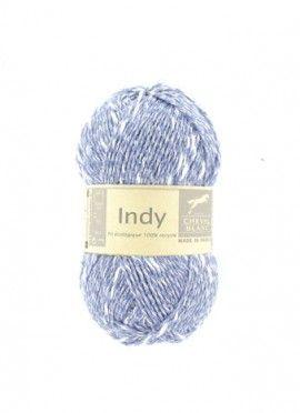 Fil à tricoter spécial été ! INDY un fil léger entièrement recyclé.