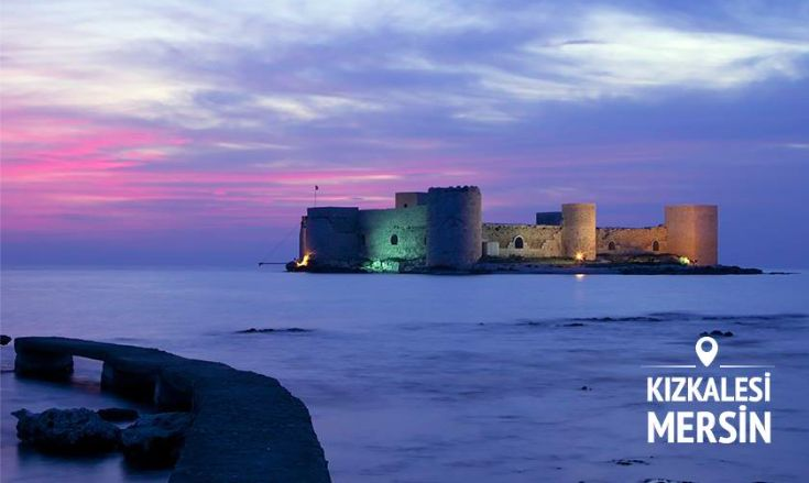 Discover what's behind the Maiden's Castle of KızKalesi in Mersin?