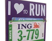Race Bib and Medals display holder ... brilliant!