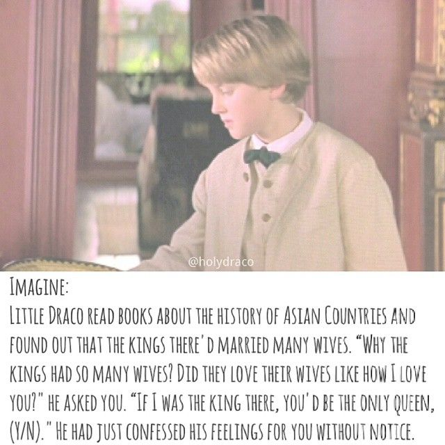 Aw, little Draco is adorable. <3 Instagram photo taken by ⠀⠀—dm imagines + d/hr edits - INK361