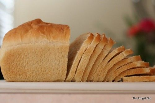 Homemade sandwich bread...about $0.50 per loaf and NO creepy preservatives.
