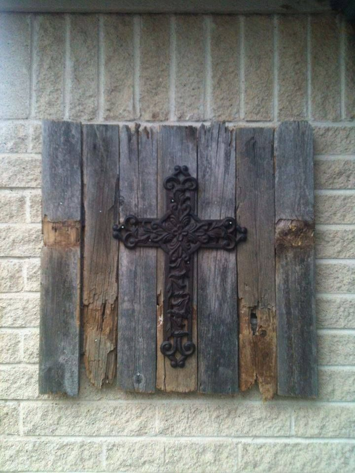 Inside or outside wall decor - Come Find me on Facebook - Specially Made For You