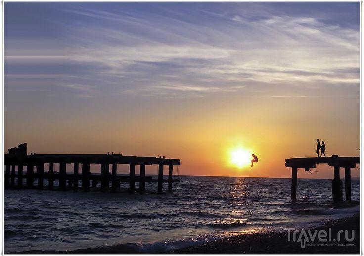 Лазаревское. Прогулка по пляжу и набережной
