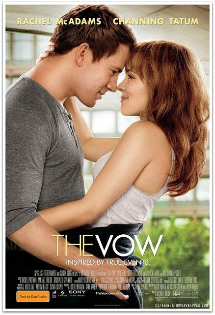 The Vow is Channing Tatem + Rachel McAdams = BEST idea ever!