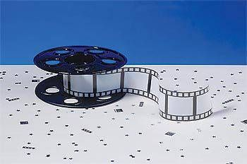 This plastic movie reel is the perfect addition to your Hollywood-themed tables
