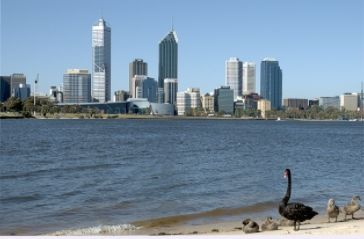 La ciudad de Perth, es un puerto muy activo para exportar: oro, niquel, aluminio etc.