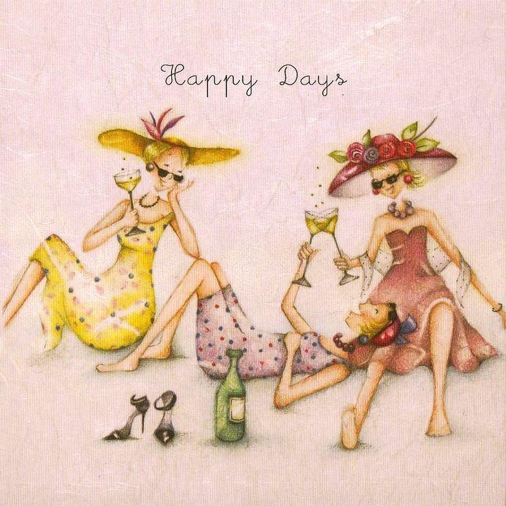 открытка моей любимой подружке винтажные мост, являющийся