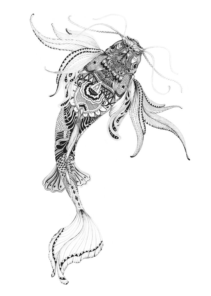 511 best images about coloriage animaux on pinterest - Poisson dessin ...