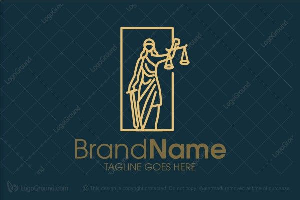 Logo for sale: Justice Line Logo