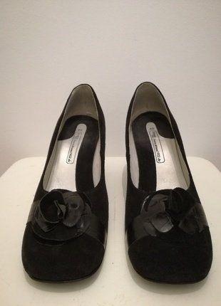 Kaufe meinen Artikel bei #Kleiderkreisel http://www.kleiderkreisel.de/damenschuhe/hohe-schuhe/143263718-schwarze-pumps-in-40-von-strauss-innovation